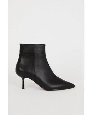 Womens Pixie Ankle Boot - black, Black
