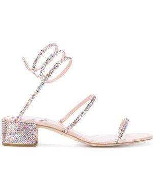 Rene Caovilla 20FW C08671 040 R001V835 CLEO Sandal Pink (Size: 365)