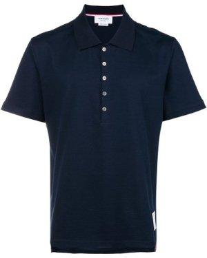 Thom Browne 20FW MJP052A-00042 415 Polo shirt Navy (Size: 2)
