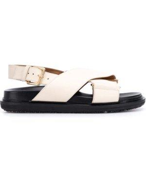Marni Fussbett criss-cross sandals (Size: 37)