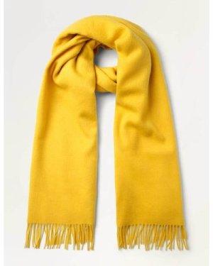 Wool Scarf Yellow Women Boden, Yellow