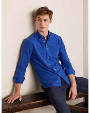 Modern Oxford Shirt Blue Men Boden, Blue