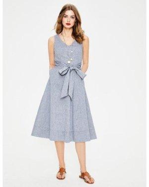 Jade Dress Blue Women Boden, Blue