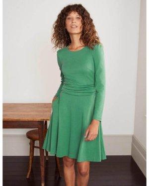 Maggie Ponte Dress Green Boden, Green