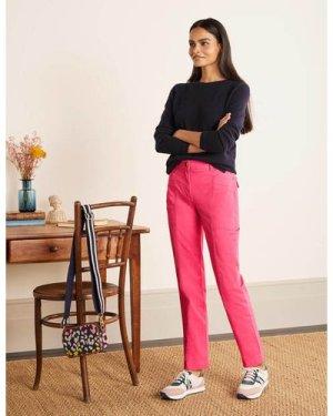 Abingdon Chino Trousers Pink Women Boden, Pink