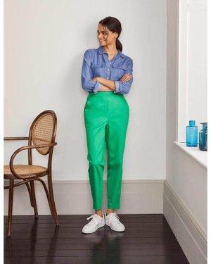 Danby Pull On Trousers Green Women Boden, Green