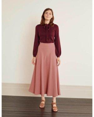 Stackpole Midi Skirt Pink Women Boden, Pink