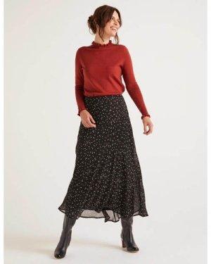 Tabitha Midi Skirt Black Women Boden, Black