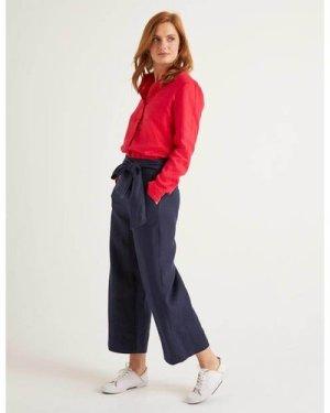 Weymouth Trousers Navy Women Boden, Navy