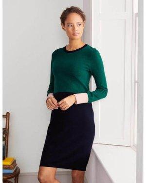 Frederica Knitted Dress Green Women Boden, Green