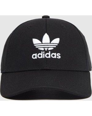 adidas Originals Classic Trefoil Cap, Black/White