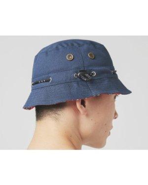 Huf Atelier Bucket Hat, Red/Blue