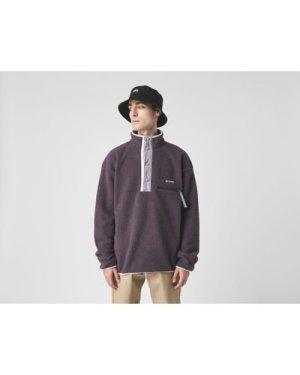 Columbia Halvetia Half Snap Fleece Sweatshirt, Grey