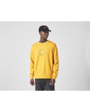 Fred Perry Global Sweatshirt, Yellow