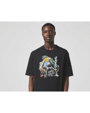 Jordan Washed Vintage Jumpshot T-Shirt, Black