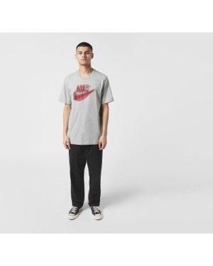 Nike Hand Drawn Logo T-Shirt, Grey