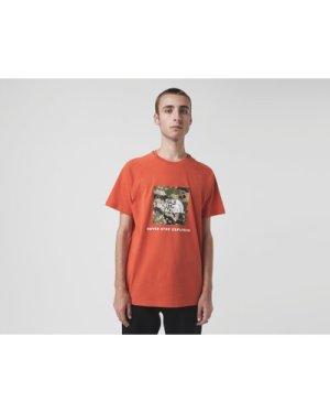 The North Face Redbox T-Shirt, Orange/Camo