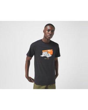 Huf x size? Stash Box T-Shirt - size? Exclusive, Black