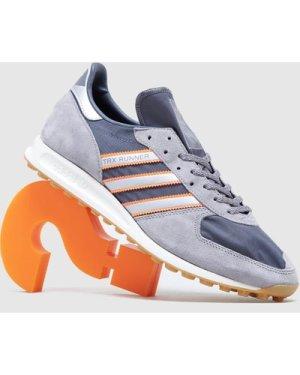 adidas Originals TRX Runner - size? Exclusive, Grey/White