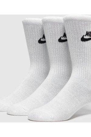 Nike 3-Pack Essential Socks, White