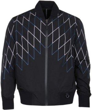 Blackbarrett Football Net Black Bomber Jacket