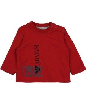 Armani Junior TOPWEAR Red Boy Cotton