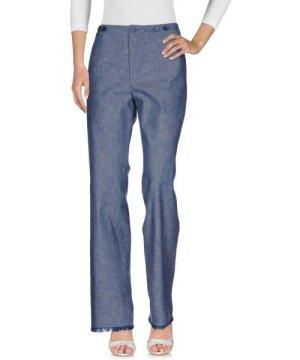 Philosophy Di Lorenzo Serafini Blue Cotton Mid Rise Jeans