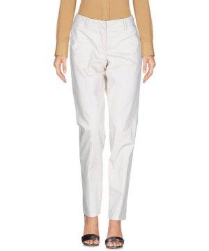 Siviglia Ivory Cotton Straight Leg Chino Trousers