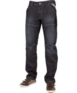 Enzo Mens Dark Wash Straight Fit Denim Jeans EZ244   Designer Menswear