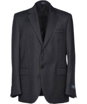 Tombolini Black Wool Single Breasted Jacket