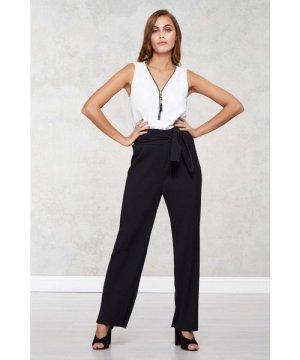 Mela London High Waisted Pleated Trousers