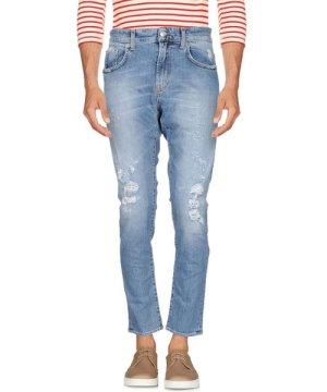 Department 5 Blue Cotton Slim Fit Jeans