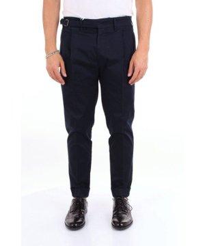 Michael Coal MICHAEL COAL MEN'S JACK3352BCNIGHTBLUE BLUE COTTON PANTS