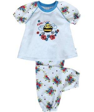 Mini Vanilla Buzzy Bee Pyjamas for Girls