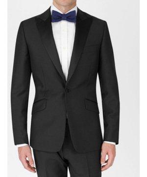 Duchamp Peak Lapel Tuxedo Jacket Black