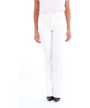 Michael Coal MICHAEL COAL WOMEN'S SOPHI2598W308WHITE WHITE COTTON PANTS