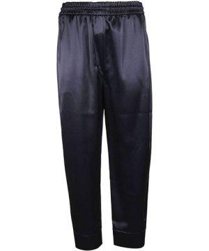 Nanushka NANUSHKA WOMEN'S 1000392500013 BLUE ACETATE PANTS