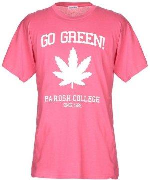 P.A.R.O.S.H. Fuchsia Cotton T-Shirt