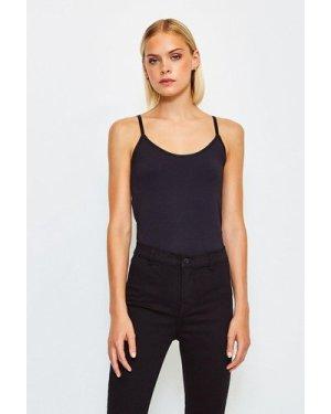 Karen Millen Smoothing Essentials Strappy Cami Top -, Black