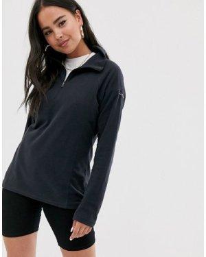 Columbia Glacial half zip fleece in black