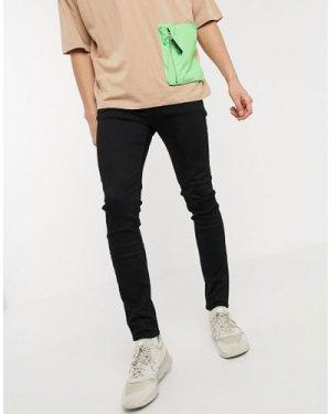 Calvin Klein Jeans super skinny jeans in black