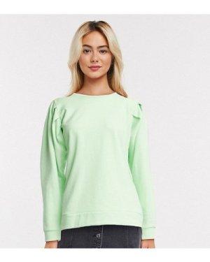Wednesday's Girl oversized sweatshirt-Green