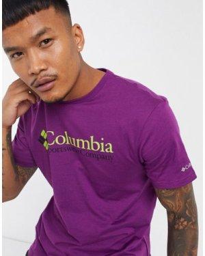 Columbia CSC Basic Logo t-shirt in purple