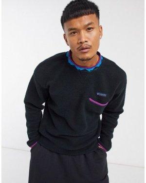 Columbia Wapitoo Fleece sweatshirt in black