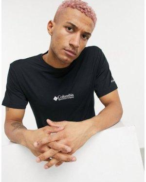 Columbia CSC Basic logo Retro t-shirt in black