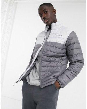 Columbia Powder lite jacket in grey