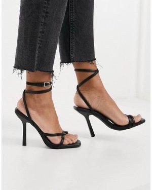 Raid Alayna strappy sandals in black