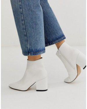 RAID Kola white ankle boots