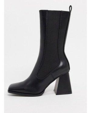 RAID React chelsea boots in black