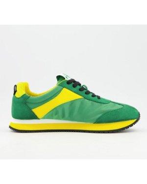 Calvin Klein jerrod trainers in multi green